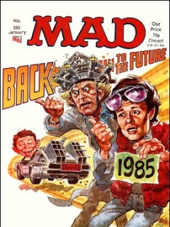 Go to MAD Magazine #285 • Great Britain