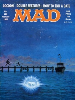 Go to MAD Magazine #286 • Great Britain