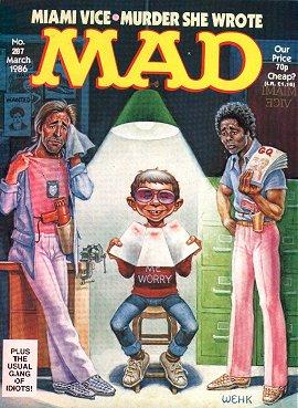 MAD Magazine #287 • Great Britain