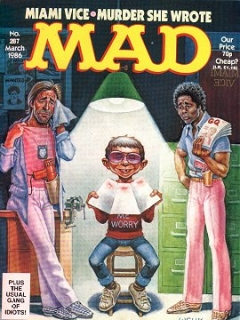 Go to MAD Magazine #287 • Great Britain