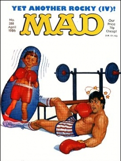 Go to MAD Magazine #288 • Great Britain