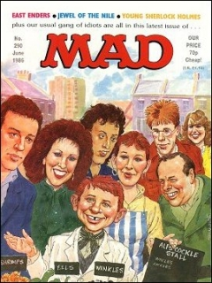 Go to MAD Magazine #290 • Great Britain
