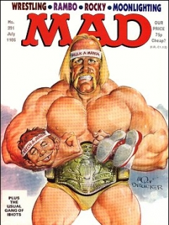Go to MAD Magazine #291 • Great Britain