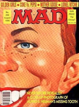 MAD Magazine #292 • Great Britain