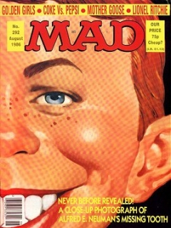 Go to MAD Magazine #292 • Great Britain
