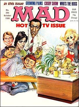 MAD Magazine #294 • Great Britain