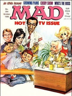 Go to MAD Magazine #294 • Great Britain