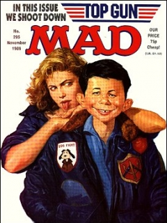 Go to MAD Magazine #295 • Great Britain