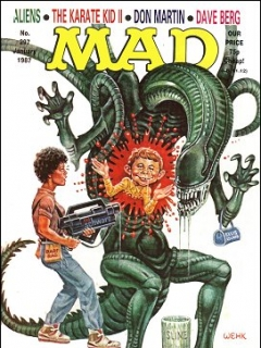 Go to MAD Magazine #297 • Great Britain