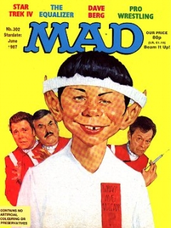 Go to MAD Magazine #302 • Great Britain