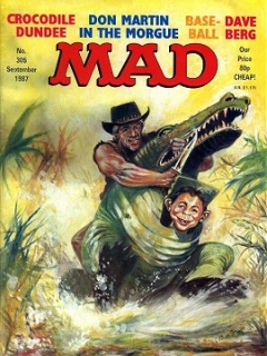 Go to MAD Magazine #305 • Great Britain