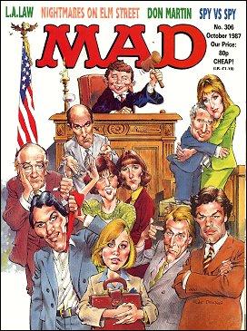 MAD Magazine #306 • Great Britain