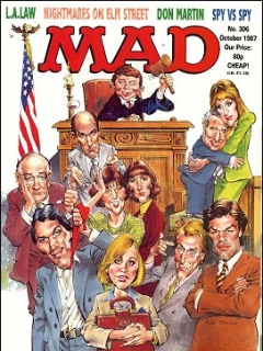 Go to MAD Magazine #306 • Great Britain