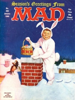 Go to MAD Magazine #309 • Great Britain