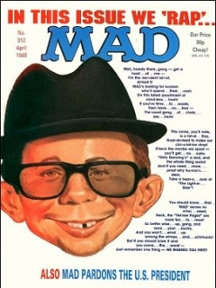 Go to MAD Magazine #312 • Great Britain