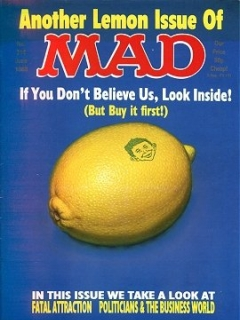 Go to MAD Magazine #314 • Great Britain