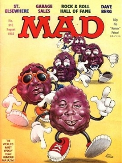 Go to MAD Magazine #316 • Great Britain