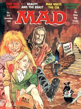 MAD Magazine #319 • Great Britain
