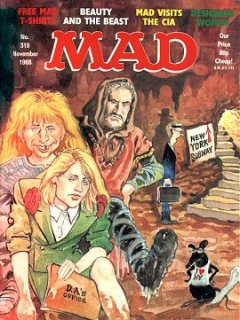 Go to MAD Magazine #319 • Great Britain