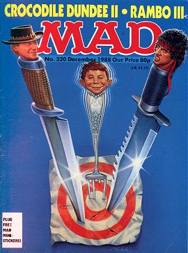 MAD Magazine #320 • Great Britain