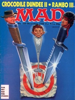 Go to MAD Magazine #320 • Great Britain