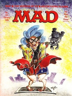 Go to MAD Magazine #322 • Great Britain