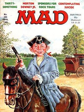 MAD Magazine #324 • Great Britain