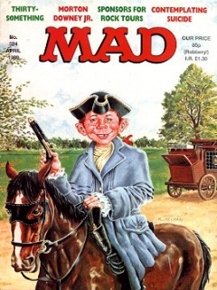Go to MAD Magazine #324 • Great Britain