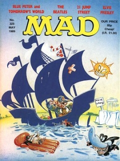 Go to MAD Magazine #325 • Great Britain