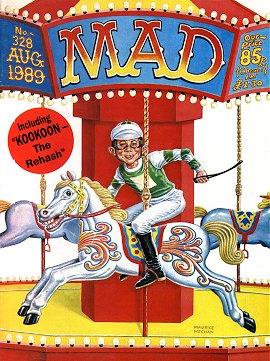 MAD Magazine #328 • Great Britain