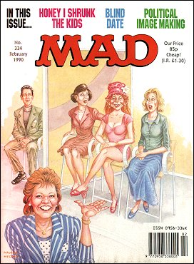 MAD Magazine #334 • Great Britain