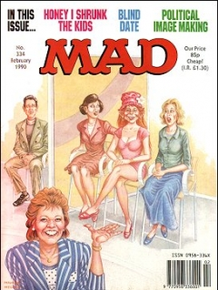 Go to MAD Magazine #334 • Great Britain