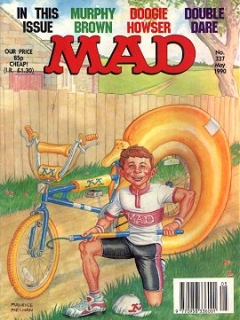 Go to MAD Magazine #337 • Great Britain