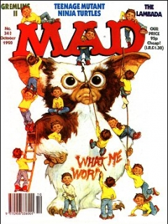 Go to MAD Magazine #342 • Great Britain