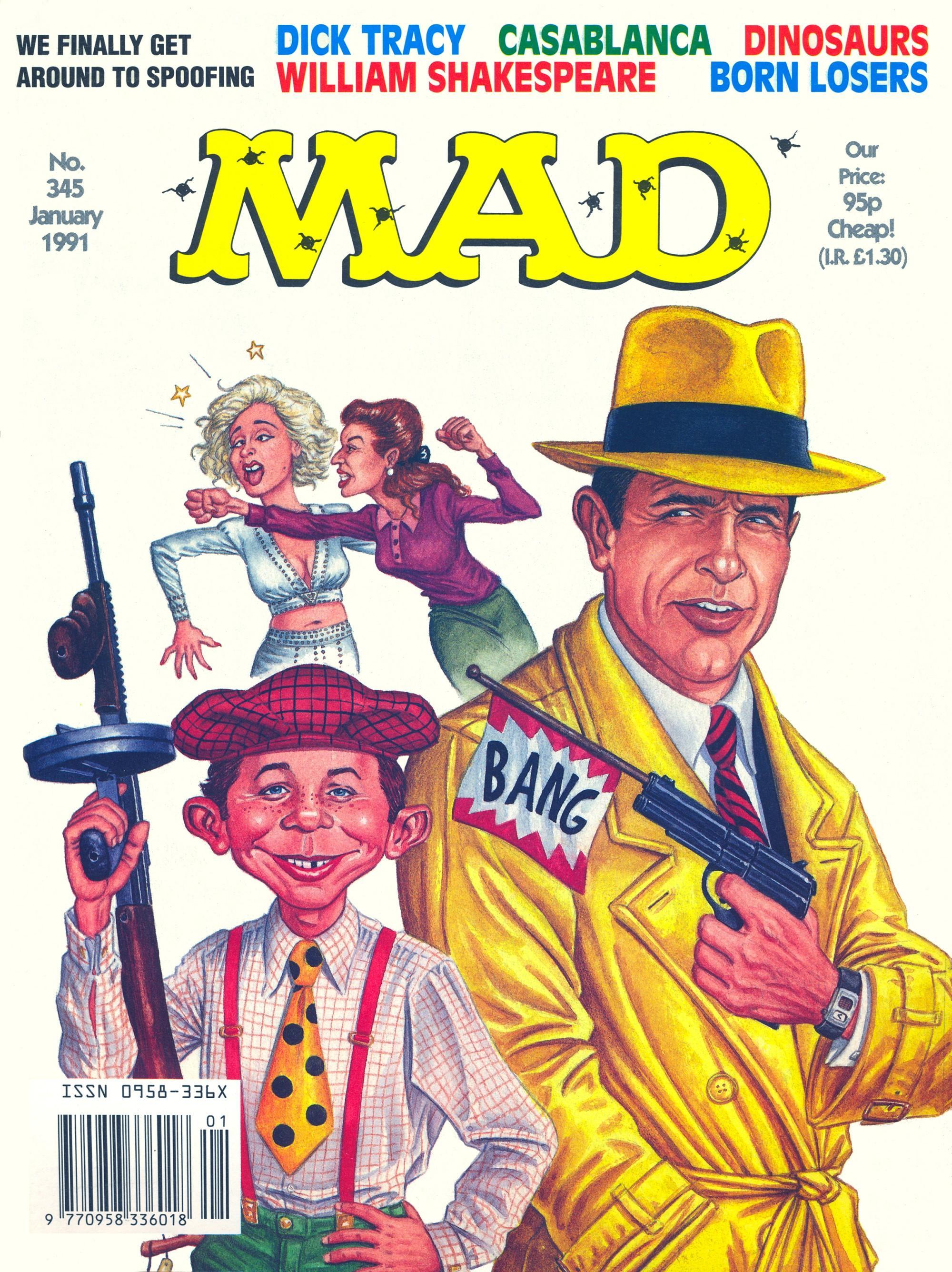 MAD Magazine #345 • Great Britain