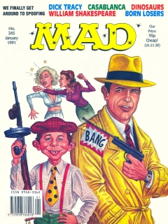 Go to MAD Magazine #345 • Great Britain
