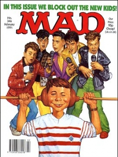 Go to MAD Magazine #346 • Great Britain