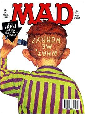 MAD Magazine #347 • Great Britain
