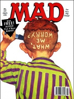 Go to MAD Magazine #347 • Great Britain