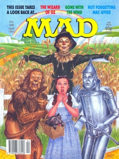 Go to MAD Magazine #348 • Great Britain