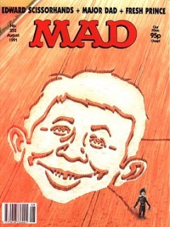 Go to MAD Magazine #352 • Great Britain