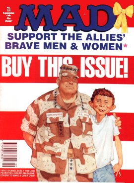 MAD Magazine #353 • Great Britain