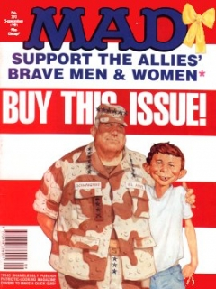 Go to MAD Magazine #353 • Great Britain