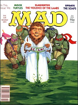 MAD Magazine #354 • Great Britain
