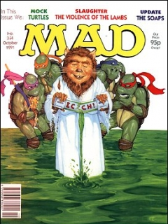 Go to MAD Magazine #354 • Great Britain
