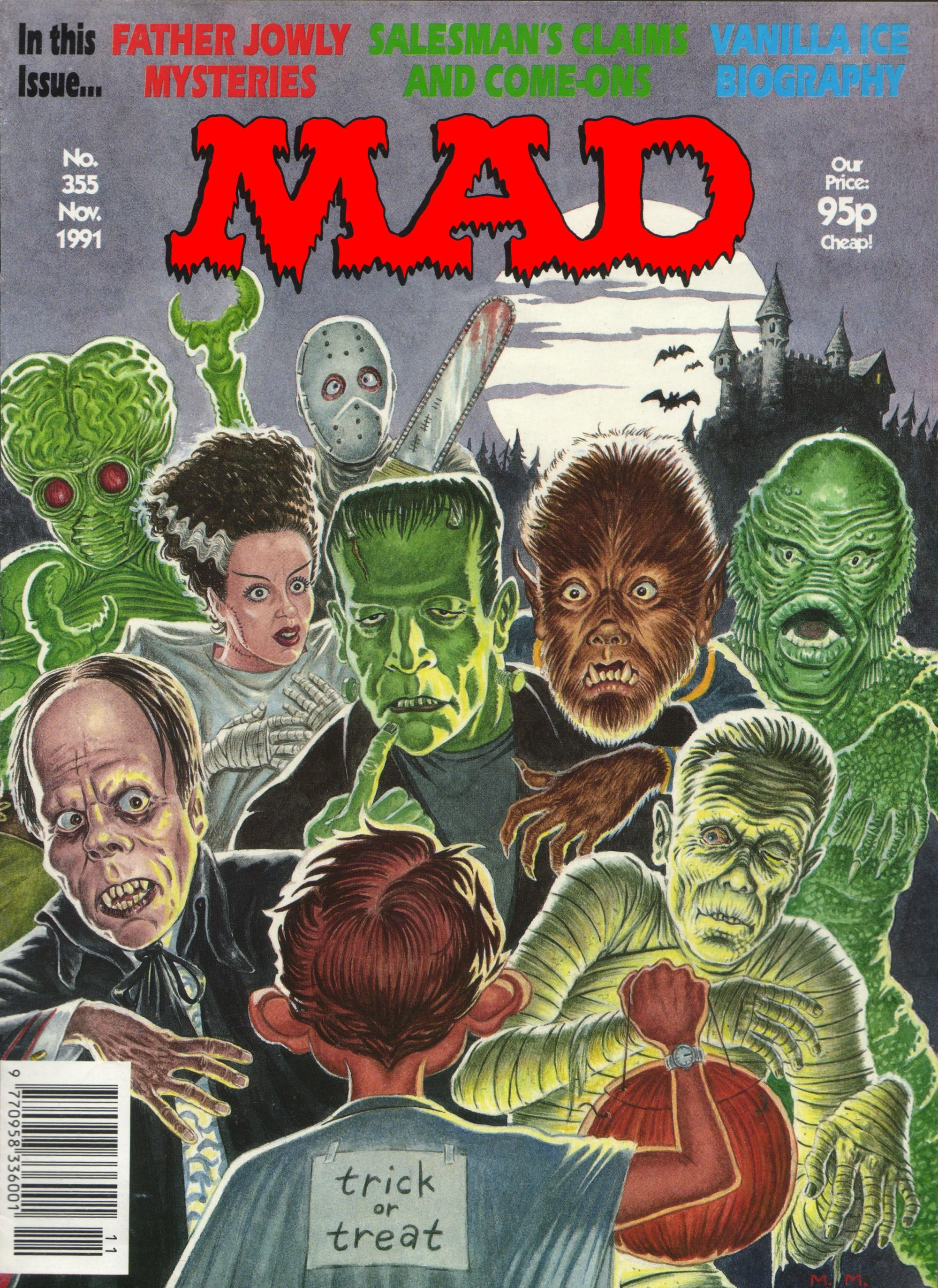 MAD Magazine #355 • Great Britain