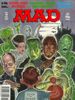 Go to MAD Magazine #355 • Great Britain