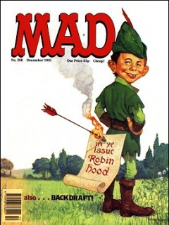 Go to MAD Magazine #356 • Great Britain