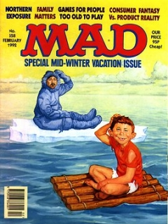 Go to MAD Magazine #358 • Great Britain