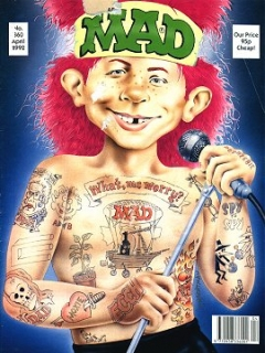 Go to MAD Magazine #360 • Great Britain